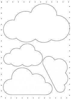 Nuvens em Feltro Verefazer, site de ideias criativas, para