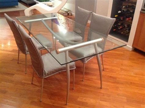 tavolo con sedie tavolo in cristallo con sedie annunci venezia