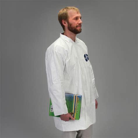 Disposable Coat disposable laboratory coat tyvek 174 large carolina
