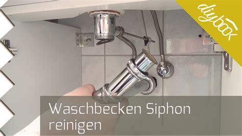 lavabo verstopft siphon reinigen der flaschensiphon am waschbecken youtube