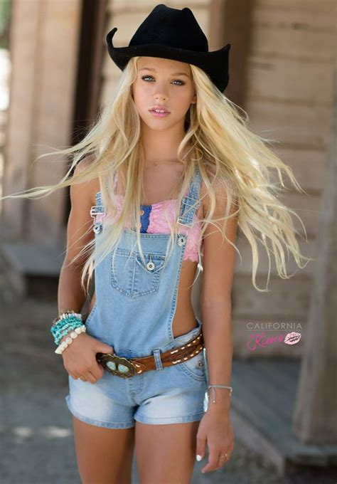 Lexies Sexiest Southern by Pictures By Alex Kruk Kid Model Denim