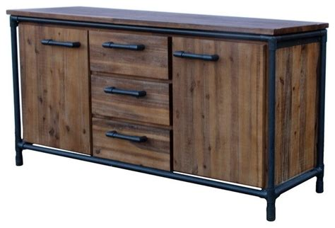 rustic sideboards and buffets acacia sideboard rustic buffets and sideboards by artefac