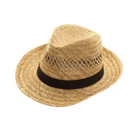 mens womens straw hat trilby fedora cap panama