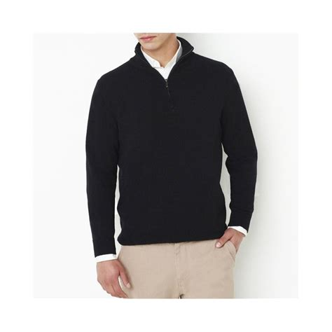 pull col cheminee pour homme pull zippe homme de marque