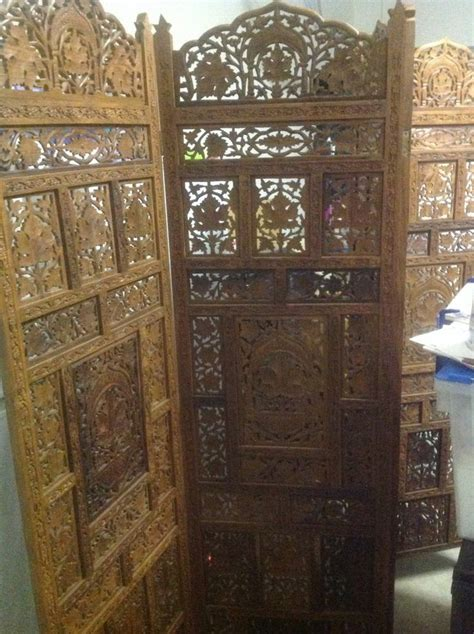 carved wood room divider 1000 images about room dividers on