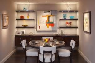 Dining Room Shelves Simple Functional And Space Saving Floating Wall Shelving