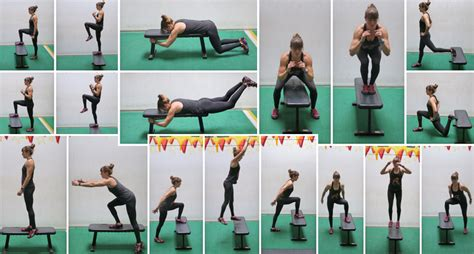 7 Leg Strengthening Exercises by 7 Leg Exercises Using A Box