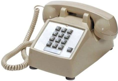 Cortelco Desk Phone by Cortelco 250044 Vba 20f Model 2500 Single Line Desk