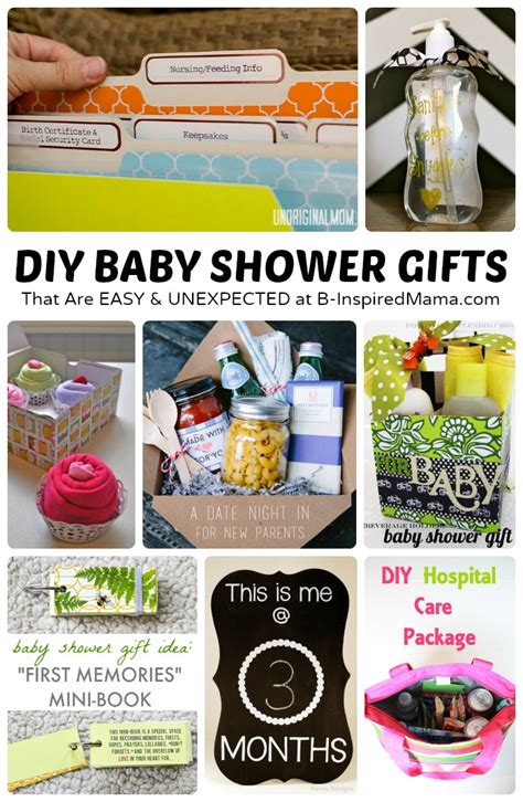 Diy Baby Shower Gifts by Easy And Diy Baby Shower Gifts B Inspired