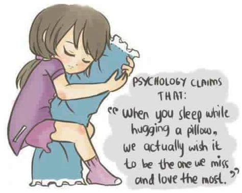 Cuddling Pillow While Sleeping by Psychology Claims That Quot When You Sleep While Hugging A