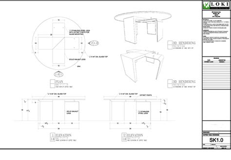 Free Cad Programs For Home Design process at loki custom furniture