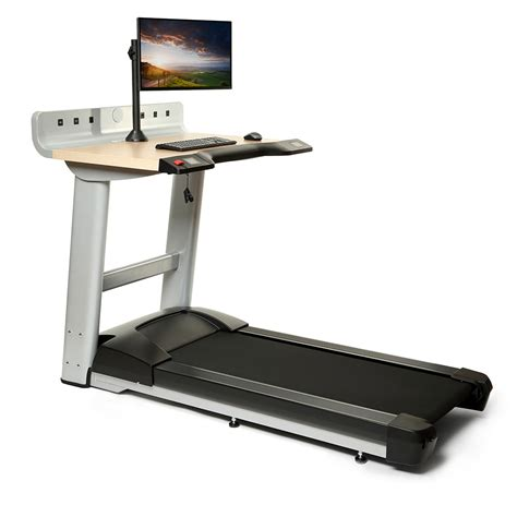 Treadmill Computer Desk by Treadmill Desk Ergonomicsherpowerhustle