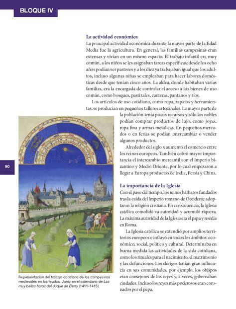 imagenes del libro de historia del bloque 4 sexto historia14 bloque 4 la vida en europa durante