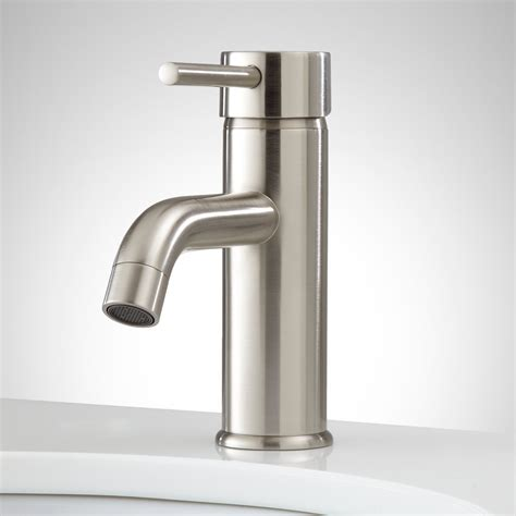 single faucet bathroom hewitt single hole bathroom faucet with pop up drain