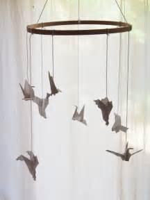 Origami Bird Mobile - origami bird mobile inspiration