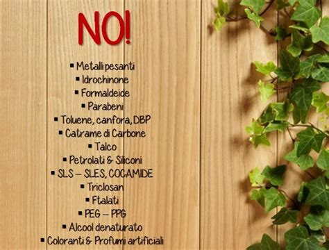 alimenti nocivi ingredienti dannosi nei cosmetici la lista bio makeup