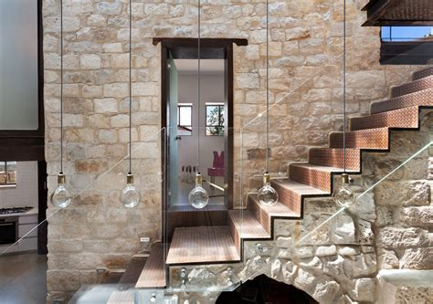 architecture interior modern home design ideas with stone stone house in israel built in the shape of the hebrew