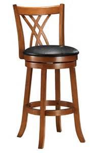 29 contemporary swivel bar stool w modern helix design