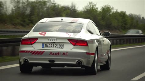 Audi Drives Itself by Audi A7 Piloted Driving Concept Quot Quot Drives Itself On