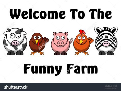Funny Welcome funny farm clipart 69