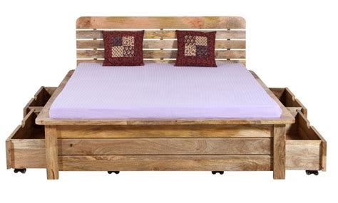 letto in legno naturale letto etnico legno naturale mobili etnici provenzali
