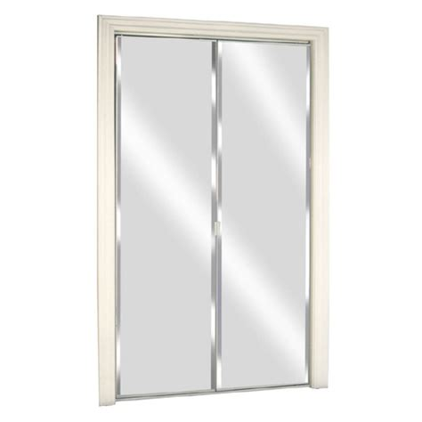 Sliding Mirror Closet Doors Lowes Mirrored Closet Doors Lowes