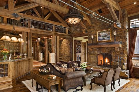 Rustic Homes Decor by Fabulous Rustic Interior Design Home Design Garden