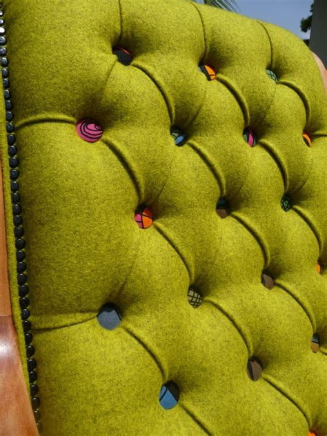 how to recover upholstery buttons i am not a quot lime quot girl but i love the colored upholstery