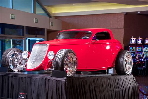 Hot Rod Giveaway - american hot rods star builds 150k ford speedster for morongo giveaway banning