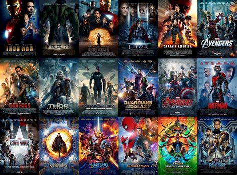 film marvel e dc infinitywar all of these movies led up to infinity war
