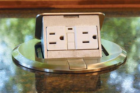 Countertop Outlet by Power Pop Remodeling Electrical Kitchen Electrical