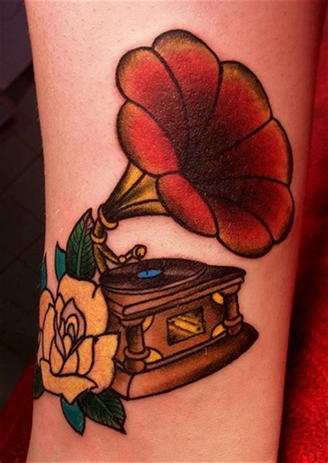 phonograph tattoo 80 best images about phonographs magnolias