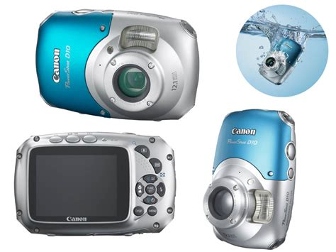 Canon Rugged by Canon Powershot D10 Rugged Waterproof Digital With