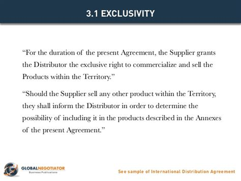international distribution agreement template international distribution agreement template
