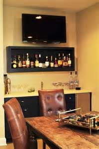 Bar Shelf Ideas We This Simple Sophisticated Cave Dining Area