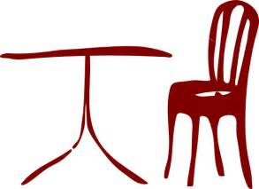 Kitchen table and chairs clipart table chair hi png