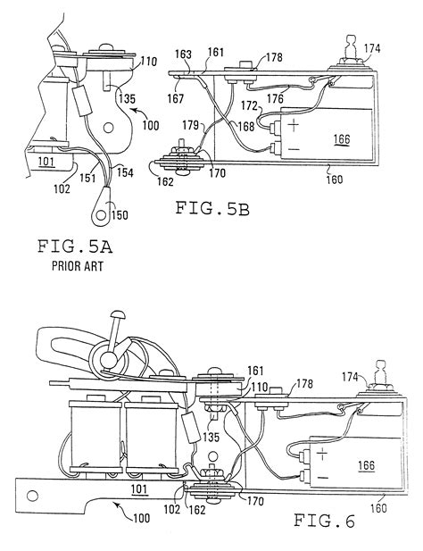 tattoo gun assembly diagram patent us6550356 tattoo technology google patents