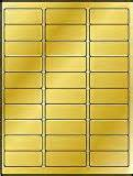 avery 8987 template 600 label outfitters 174 metallic gold foil laser only