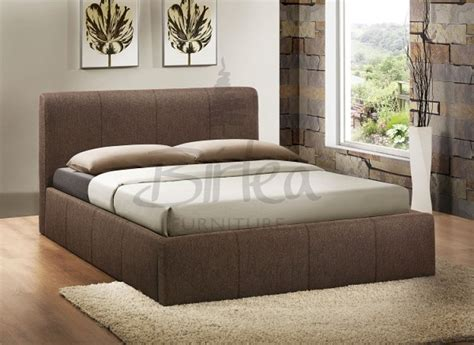 birlea brooklyn fabric ottoman bed birlea brooklyn chocolate fabric 4ft small double ottoman