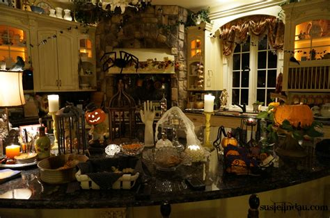 spooky halloween creepy kitchen decorations making the most haunted room at home mykitcheninterior october susie lindau s wild ride