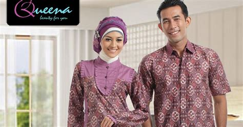 Tunik Queena by Queena Sarimbit Batik Tunik 059 Purple
