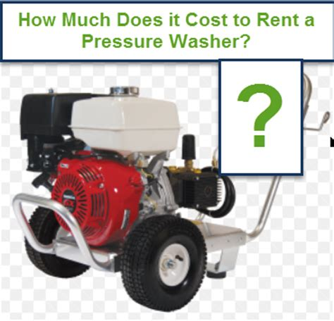how much does it cost to rent a hospital bed how much does it cost to rent a pressure washer in your area