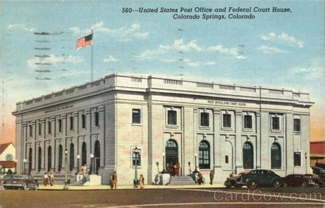 united states post office and federal court house colorado