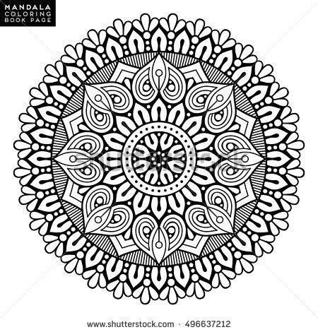libro great mystic mandala coloring 1639 mejores im 225 genes de mandalas en p 225 ginas para colorear coloraci 243 n adulta y