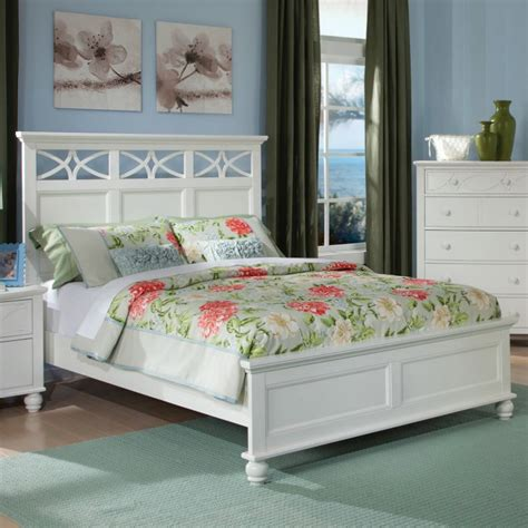 sanibel bedroom collection homelegance sanibel 5 piece platform bedroom set in white