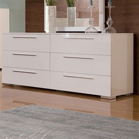 modern white dresser furniture bedroom designs with six