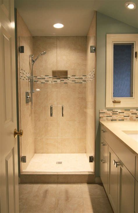 Bathroom Shower Renovations Photos Best 25 Small Bathroom Ideas On Pinterest Tile Shower Niche Tile Shower Shelf And