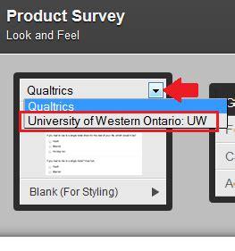 Qualtrics Schulich Information Services Western University Qualtrics Survey Templates