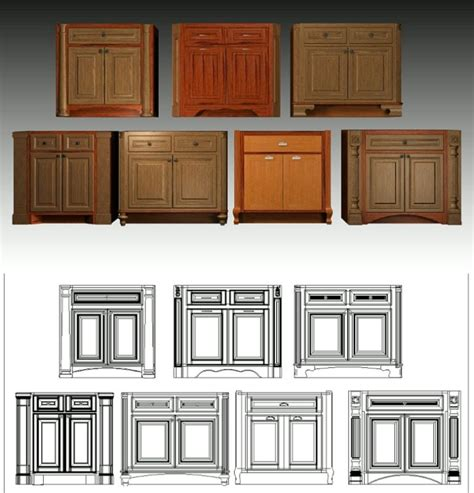 kitchen cabinets with feet ideas for cabinet feet