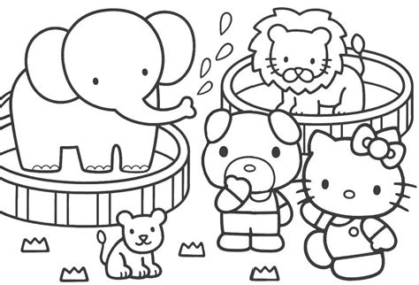 color zoo zoo coloring pages coloring pages to print